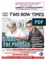 Two Row Times - Issue 01