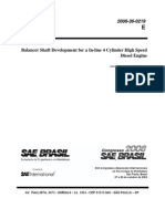 2008-36-0219 - Balancer Shaft Development for a in-Line 4 Cylinder High Speed Diesel Engine