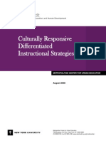Culturally Responsive Differientiated Instruction