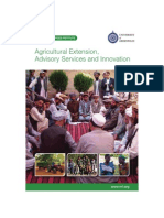 Agricultural Extension Advisory Services and Innovation