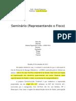 Seminário financeiro - parte escrita