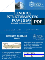 Elementos Estructurales (Frame)