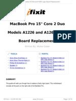 Macbook Pro Repair Guide