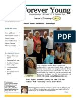Forever Young Newsletter #7 - January/February 2014