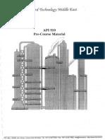 API-510 (Pre Course Material)
