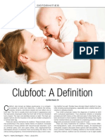 Jan14-Congenital Foot Deformities