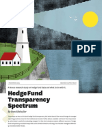Hedge Fund Transparency Spectrum