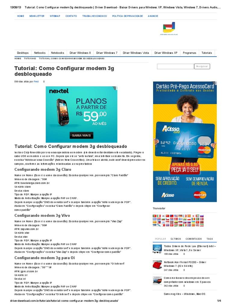 ANDROID PARA BAIXAR TIM 3G DISCADOR