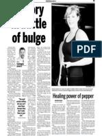 Brandy Humford, Keeping Fit, Sun Media (March 26, 2007)