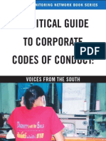 Critical Guide to Codeof Conduct