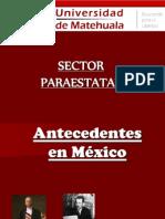 El Sector Paraestatal