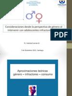 Genero e Infractores Soledad Larraín Presentación