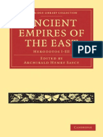 Ancient Empires of the East – Herodotos I-III–Sayce (ed.)