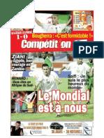 Edition du 7 septembre 2009