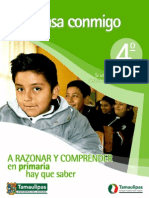 Piensa Conmigo 4to Primaria Tamaulipas 2012 2013