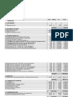 Analisis de Costos y Presupuesto Constanza
