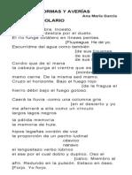 HORMAS Y AVERÍAS & JUEGO DE MANOS por ANA MARÍA GARCÍA