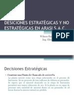 Tarea 1 Decisiones Estratégicas y No Estratégicas.