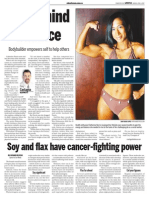 Cathy Norris, Keeping Fit, Sun Media (April 9, 2007)