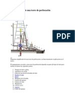 Equipamiento de una torre de perforación