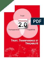 Trust, Transparence et Traçabilité