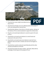 31 day provo prayer guide
