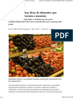 Nutricionista traz dicas de alimentos que estimulam raciocínio e memória — g1.globo
