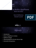 How to Build a SpyPhone (Presentation Slides)