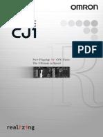 CJ1 PLC Datasheet