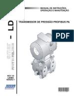 Transmissor de pressão LD303