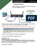 DIR-615 Configuracao Wireless