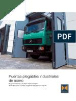 Puertas Plegables Industriales de Acero
