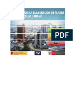 Manual Para Plan de Desarrollo Urbano