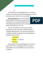 CLASE 1 Introduccion e Historia de La Microbiologia