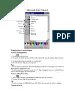 Microsoft Paint Tutorial
