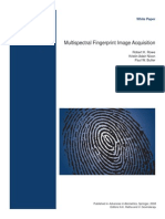 Multi Spectral Fingerprint Image Aquisition - White Paper
