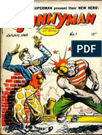 Funnyman  Issue Number One by Jerry Siegel and Joe Shuster - Public Domain