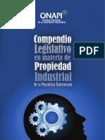 Compendio Legislativo en materia de Propiedad Industrial de la República Dominicana