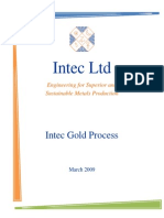Intec Gold Process