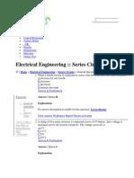 Series Circuits by Pavan