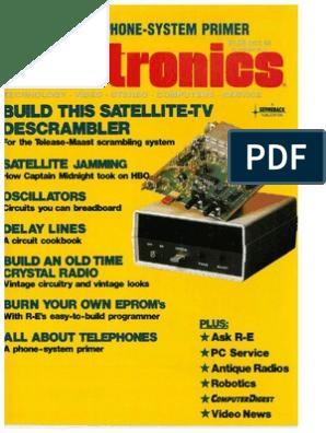 RE Oct 1986 | Videocassette Recorder | High Definition