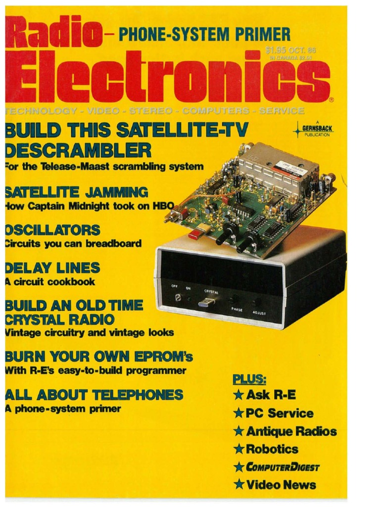 Re oct 1986 videocassette recorder high definition television fandeluxe Choice Image