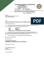 Surat Lawatan Penanda Aras SMK Alma