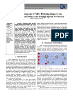 TRAFFIC SHAPING and TRAFFIC POLICING IMPACTS on AGGREGATE TRAFFIC BEHAVIOR in HIGH SPEED NETWORKS