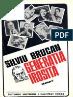 59595087 BRUCAN Silviu Generatia Irosita