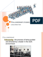 Followership Studies