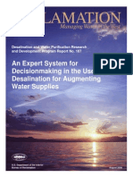 Report107 Desalination for Augmenting Water Supplies
