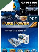 Gigabyte GA-P55-UD6 motherboard