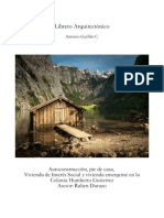 Libreto arquitectonico vivienda1 int. soc. Antonio Guillén