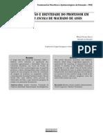 REPRESENTAÇÃO E IDENTIDADE DO PROFESSOR EM CONTO DE ESCOLA